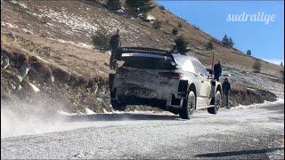 Test Rallye Monte Carlo 2019 - Loeb/Neuville/Mikkelsen (I20 WRC) (HD)