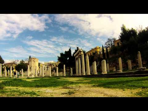 The Roman Forum and Tower of Winds Timelapse, Athens, Greece - Greecetimelapse.com