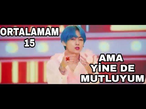 BTS YİNE KARNE ALIYOR! - BOY WITH LUV FT. HALSEY PARODİ