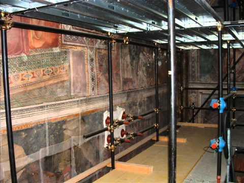 Intervento di restauro affresco sala detta di Balia del Palazzo Pubblico di Siena