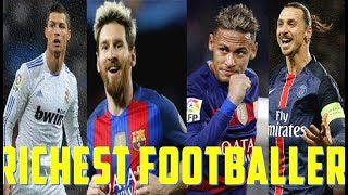 Top 10 RICHEST Football Players of the world!! Soccer News