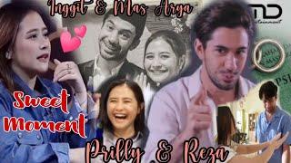 Ternyata Bisa Nyanyi Juga || Sweet Moment Reza Rahadian & Prilly Latuconsina