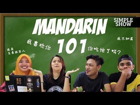 Simple Show: MALAYSIAN LEARN MANDARIN 101
