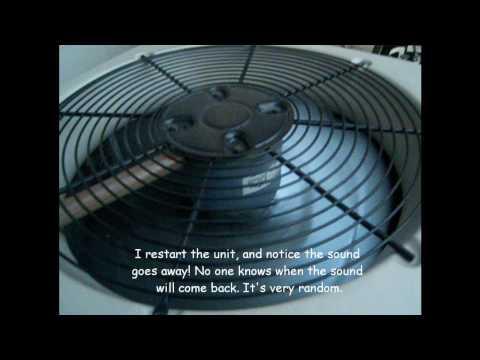 Noisy Split System Air Conditioner Heat Pump Compressor ...