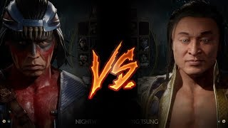 Mortal Kombat 11 - Nightwolf Vs. Shang Tsung (VERY HARD)