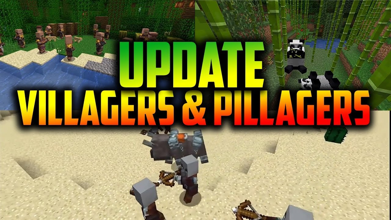 Everything About 1 8 Pe And 1 14 Pc Minecraft Village Pillage