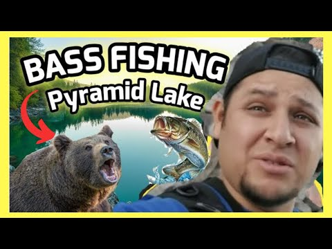 🔴 Bank Fishing For Bass - Pyramid Lake