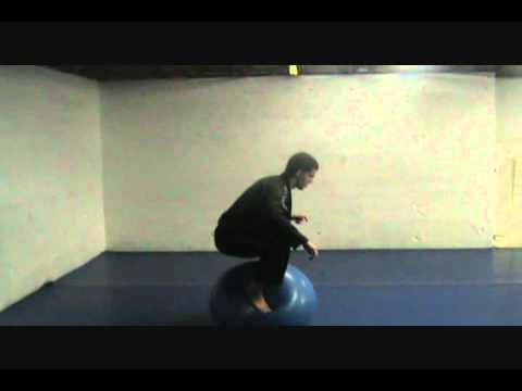 BJJ Stability Ball Tricks