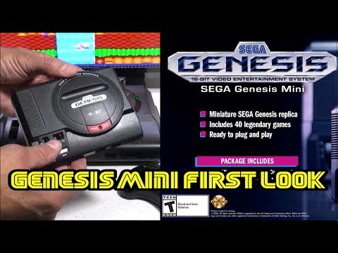 "FIRST LOOK at The New Sega Genesis/Megadrive Mini HANDS ON! ""Aprils Fools day prank"" thumbnail"