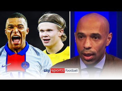 Kylian Mbappe or Erling Haaland? 🔥| Thierry Henry & Jamie Carragher share their thoughts - Sky Sports Football