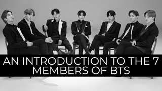 An introduction to the 7 members of BTS (2021 update)