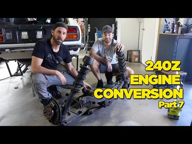 240Z - RB26 Engine Conversion [PART 7]