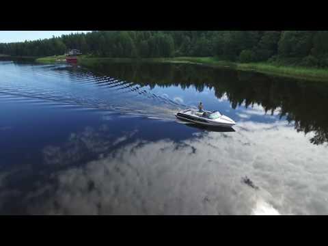 Waterski summer 2016, Gävle Sweden 1080p  DJI phantom