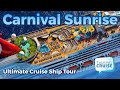 Carnival Sunrise - Ultimate Cruise Ship Tour (2019)