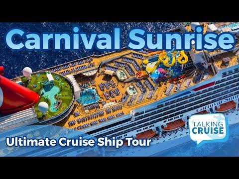Carnival Sunrise - Ultimate Cruise Ship Tour (2019)