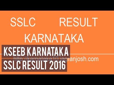 Karnataka Class 10 SSLC Board Exam Results may be announced on Saturday