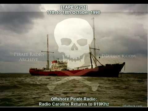 [G251-EDIT] Radio Caroline 819 ~ 11-18/10/1990 ~ Offshore Pirate Radio