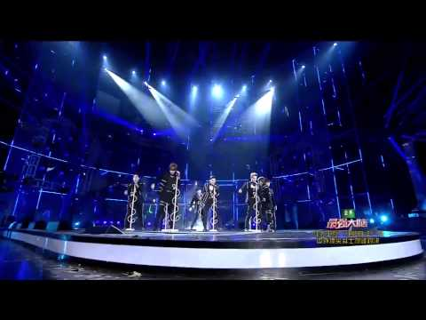 [Full HD] 150101 江苏卫视 新年演唱会 Super Junior This Is Love + Mamacita
