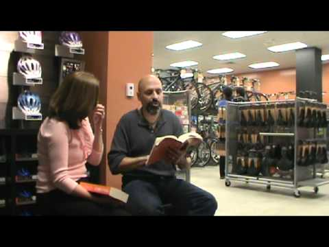 Cycles of a Traveler - book talk Stamford  Connecticut part 3