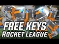 How to get FREE KEYS on Rocket League 100% *No Clickbait