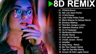 3D Bollywood Songs || LATEST HINDI REMIX SONG 2020 || 3D Audio || 3D Songs Headphones