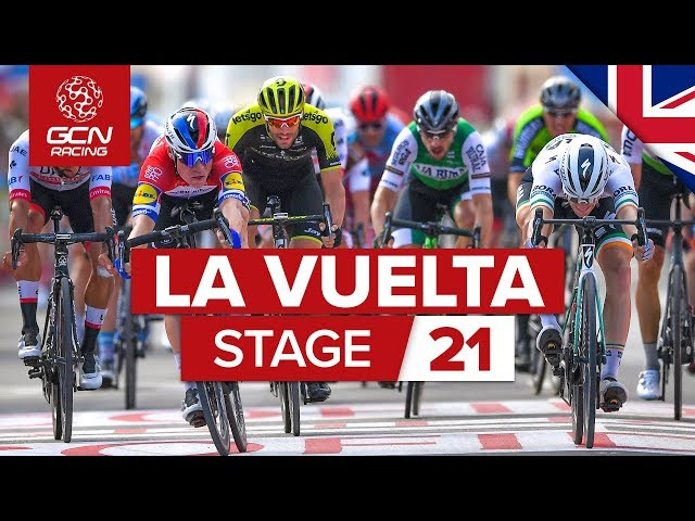 Vuelta a España 2019 Stage 21 Highlights: Madrid | GCN Racing