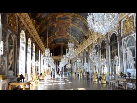 visite du ch teau de versailles youtube. Black Bedroom Furniture Sets. Home Design Ideas