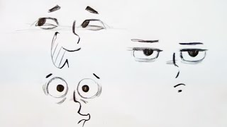 How to Draw Eye Expressions (Step by Step)