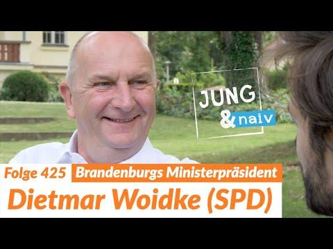 Ministerpräsident Dietmar Woidke (SPD) - Jung & Naiv: Folge 425 | Wahl in Brandenburg