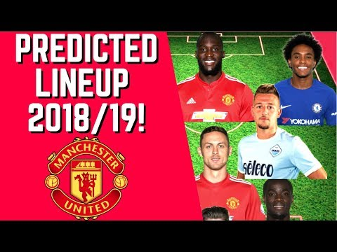 8f2bdf10b Manchester United Predicted Lineup For 2018 19 Season! - YouTube