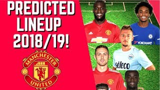 Manchester United Predicted Lineup For 2018/19 Season!