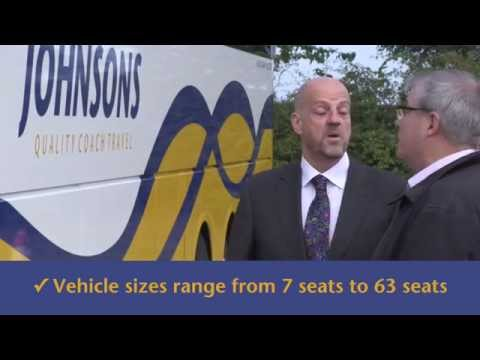 Johnsons Coaches Private Hire - Look What You Get