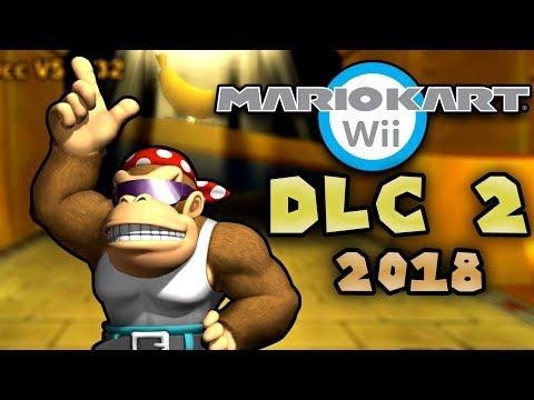 Mario Kart Wii DLC 2018 Part 2 (*NEW* Custom Tracks CTGP)