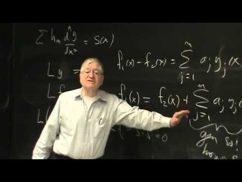 Lecture 23:  Physical Mathematics at UNM Fall 2015