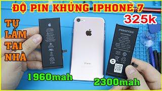 Độ PIN Khủng (2300mah) cho iPhone 7 325k trên LAZADA, SHOPEE tự thay Tại Nhà | MUA HÀNG ONLINE