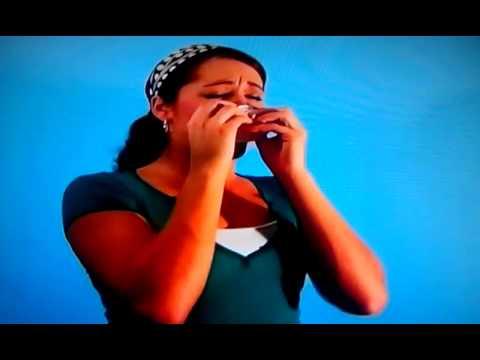 Dramatic girly sneezing 2