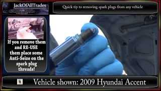 Quick Tip: How to prevent stuck sockets and spark plugs in 720pHD