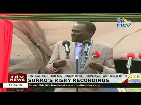 CoG chair, Joseph Nanok calls out Gov....