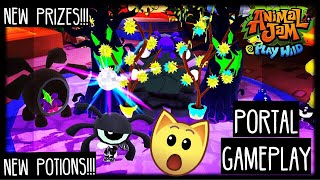 How to Find The NEW AJPW Sapphire Potion And PRIZES in the Phantom Portal!!! | Animal Jam Play Wild