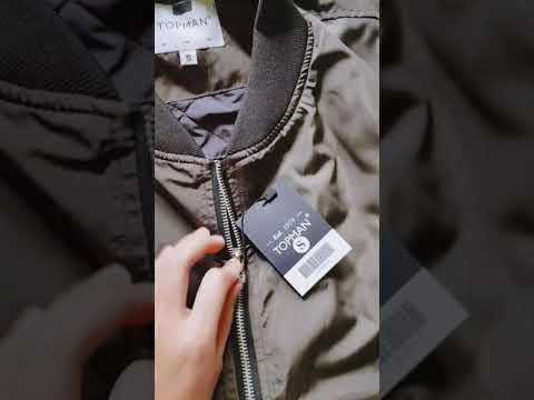 Áo Khoác Bomber Jacket Trần Bông