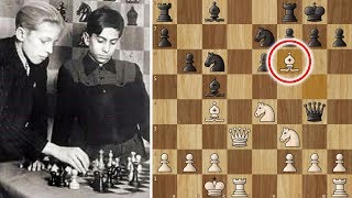 Mikhail Tal the Great, Mates in Eight! (12 years old)
