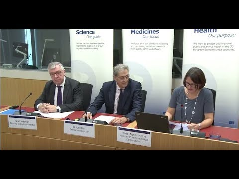 Press briefing on EMA's relocation to Amsterdam