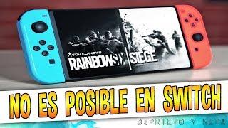 CONFIRMADO   Ubisoft descarta Rainbow Six en Nintendo Switch, PORQUE SU CPU NO PUEDE MOVERLO !