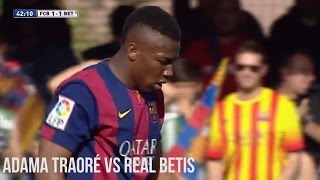 Adama Traoré vs. Real Betis | Individual Highlights | Barcelona B