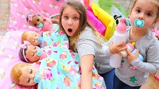 kids-pretend-play-with-baby-dolls-feeding-and-night-time-routine-video