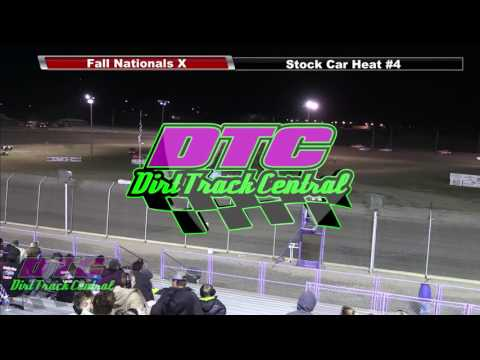 IMCA Stock Car Heats Fall Nationals RPM Speedway 10 7 16
