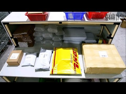 # 11.11 How We Pack Your Orders【China Warehouse】 - Gearbest.com