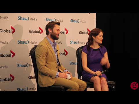 Ryan Eggold & Megan Boone talk 'The Blacklist'