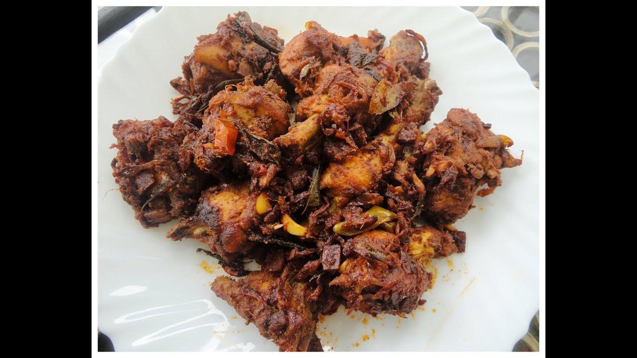 നാടൻ Chicken Roast (Kerala Style)- chinnuz' I Love My ...