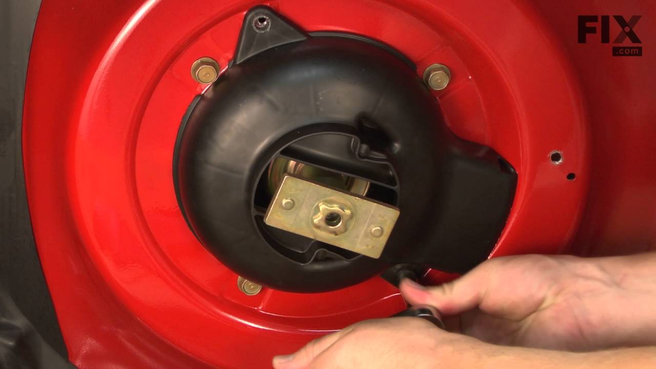Troy Bilt Lawn Mower Repair How To Replace The Drive